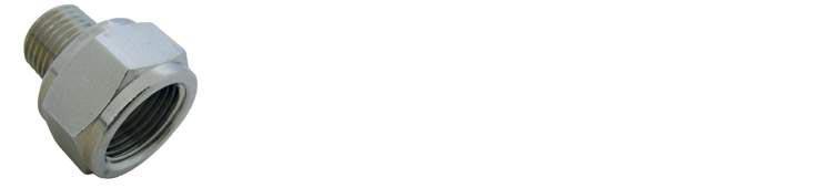 RC040 1/4 1/2 - Maggiorazione maschio-femmina conica