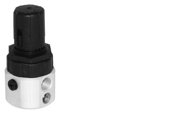 """Miniregolatore di pressione G1/4"""" con by-pass"""