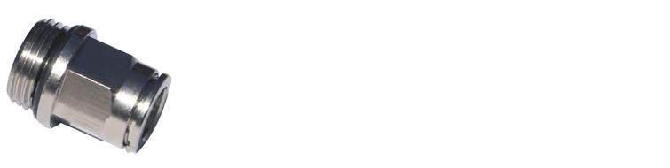 RP020 8 1/4 - Raccordo diritto maschio cilindrico
