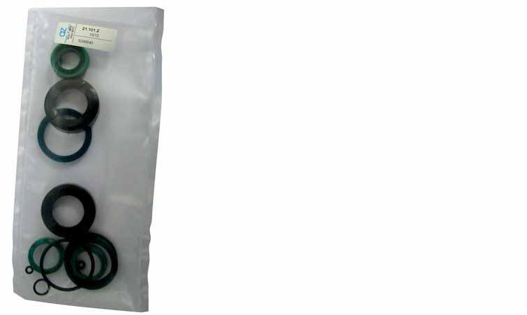 Kit guarnizioni standard per cilindri ISO 6431 magnetico ø63